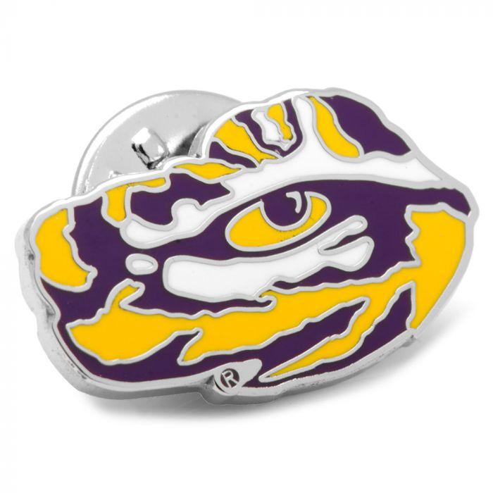 LSU Tigers Tiger Eye Pendant Charm LSU Gifts Officially Licensed Louisiana State University Jewelry Louisiana State University Charm Stainless Steel LSU Charms