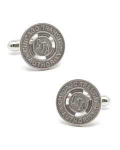 Chicago Transit Token Cufflinks, without Bezel