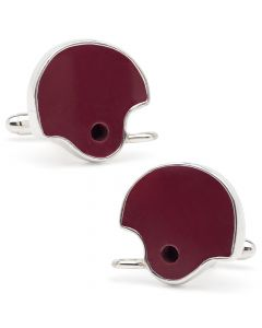 University of Alabama Game Used Helmet Cufflinks