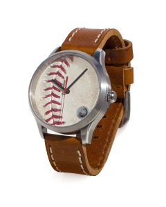 Chicago Cubs Game Used Baseball Watch