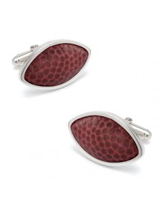 University of Alabama Game Used Football Cufflinks