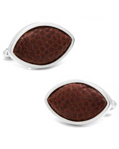 University Of Michigan Game Used Football Cufflinks