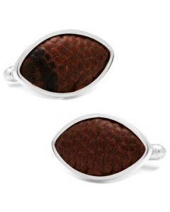 Minnesota Vikings Game Used Football Cufflinks