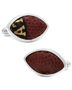 Tennessee Titans Game Used Football Cufflinks