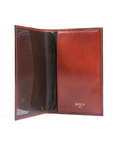 Cognac Old Leather Classic Passport Case