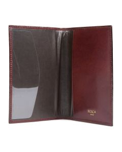 Dark Brown Old Leather Classic Passport Case