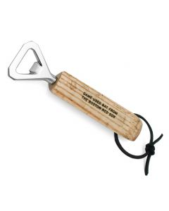 Boston Red Sox Game Used Bat Bottle Opener