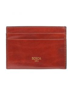 Cognac Old Leather Classic Weekend Wallet