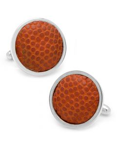 University Of Michigan Game Used Basketball Cufflinks