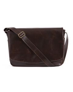 Sackett Messenger Bag in Brompton Brown
