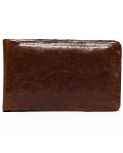 Brompton Brown Money Clip