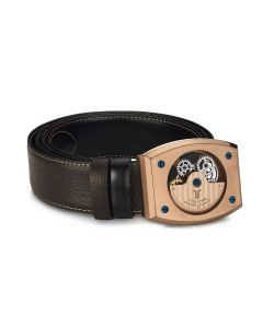 Rose Gold Automatic Belt Buckle
