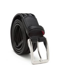 Litmus Leather Belt in Black