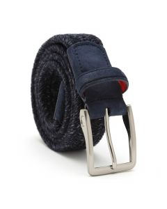 Thermal Wool Belt in Blue Melange
