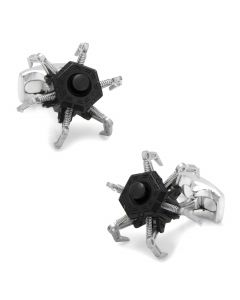 Moving Drone Cufflinks