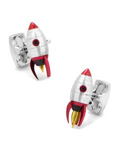 Moving Rocket Cufflinks
