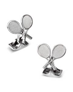 Tennis Racket Cufflinks