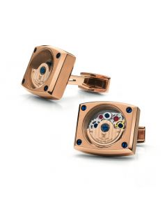 Rose Gold Automatic Cufflinks