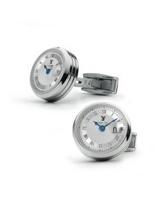 Stainless Steel Big Date Cufflinks