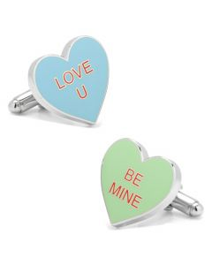 Conversation Hearts Cufflinks