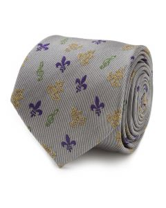 Mardi Gras Mask Men's Tie