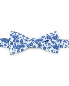 Tropical Blue Men's Bow Tie