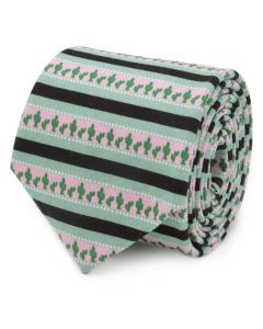 Texas Cactus Stripe Sage Men's Tie