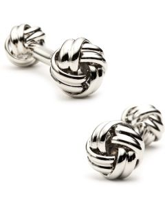 Double Ended Love Knot Cufflinks