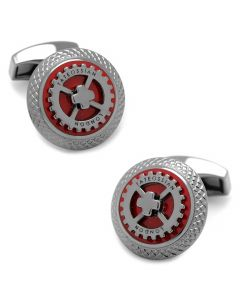 Red Gear UFO Cufflinks