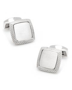 Satin Quadrato Cufflinks