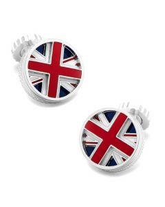 UK Rotating Flag Cufflinks