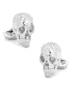 Glastonbury Skull Cufflinks