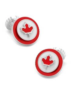 Canada Rotating Flag Cufflinks