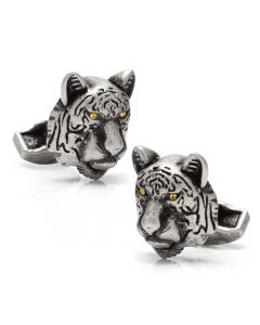 Mechanical Tiger Cufflinks