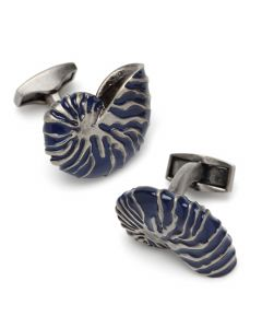 Nautilus Shell Cufflinks