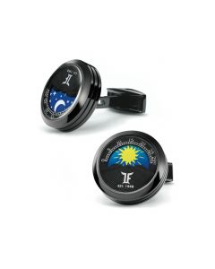 Black PVD MoonPhase Cufflinks