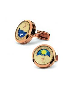 Rose Gold MoonPhase Cufflinks