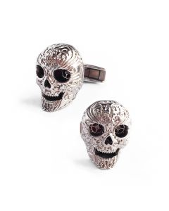 Stainless Steel Skull Cufflinks