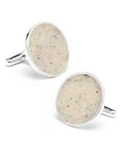 California Carmel Beach Sand Cufflinks
