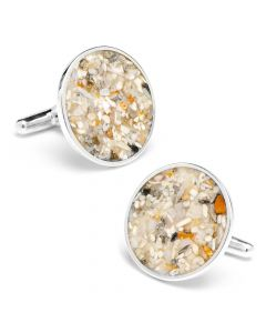 Florida Miami Beach Sand Cufflinks