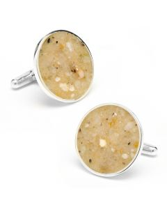 Martha's Vineyard Beach Sand Cufflinks