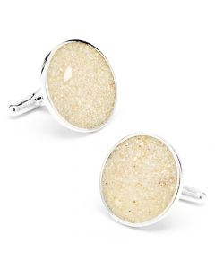 Aruba Eagle Beach Sand Cufflinks