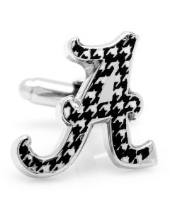 University of Alabama Houndstooth Cufflinks