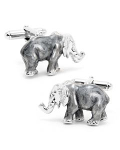 Grey Elephant Cufflinks