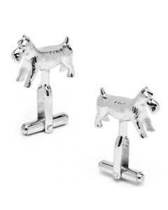 Monopoly Scottie Dog Playing Piece Cufflinks