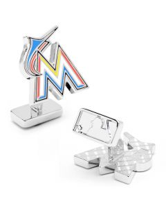 Palladium Miami Marlins Cufflinks