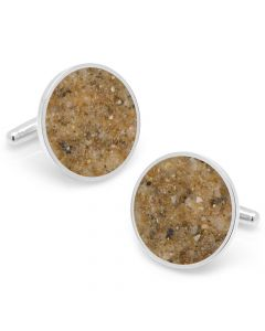 Fiji Beach Sand Cufflinks