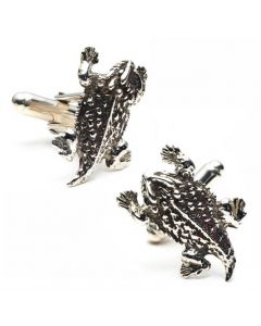 Texas Horny Toad Cufflinks