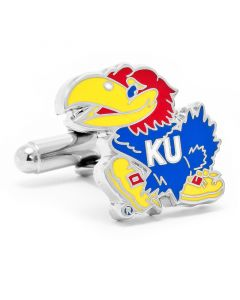 Kansas University Jayhawks Cufflinks