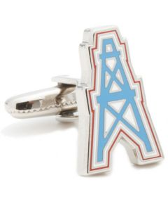 Vintage Houston Oilers Cufflinks